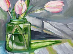 Glass Tulips by Anne Seay