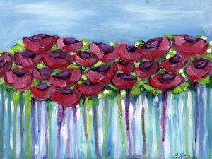 Poppy Dreaming I by Anne Seay