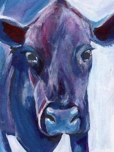 Purple Cow by Anne Seay