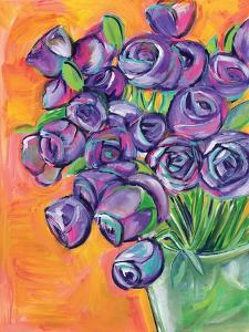 Purple Roses by Anne Seay