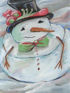Snowman by Anne Seay