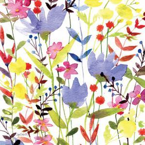 Annes Flowers Crop I by Anne Tavoletti