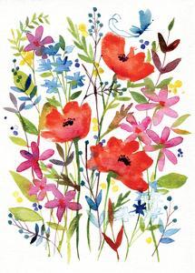 Annes Flowers IV by Anne Tavoletti