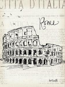 City Sketches IV by Anne Tavoletti