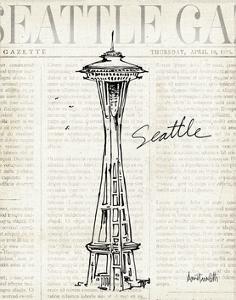 City Sketches VI Seattle by Anne Tavoletti