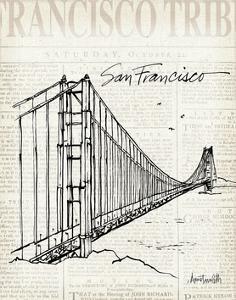 City Sketches VII San Francisco by Anne Tavoletti