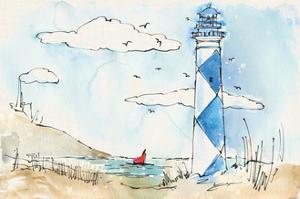 Coastal Life VIII by Anne Tavoletti
