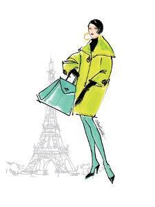 Colorful Fashion II - Paris by Anne Tavoletti