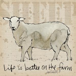 Farm Life IV by Anne Tavoletti