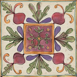 Farmers Feast Tiles II by Anne Tavoletti