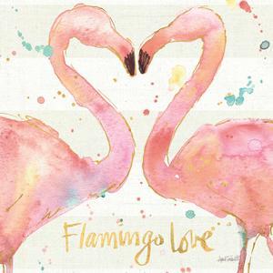 Flamingo Fever II by Anne Tavoletti