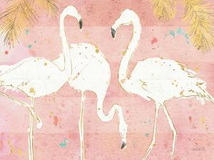Flamingo Fever IV by Anne Tavoletti