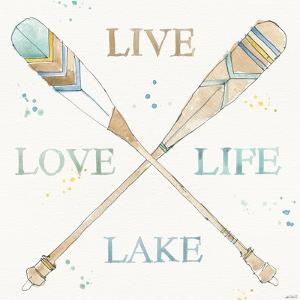 Lakehouse V by Anne Tavoletti