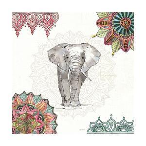 Mandala Morning IV by Anne Tavoletti