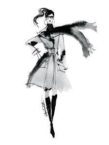 Modern Fashion I by Anne Tavoletti