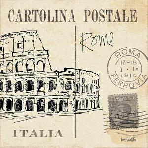 Postcard Sketches IV by Anne Tavoletti