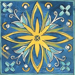 Tuscan Sun Tile I Color by Anne Tavoletti
