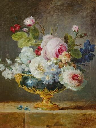 Flowers in a Blue Vase, 1782
