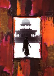 Woman in India by Anne Valverde