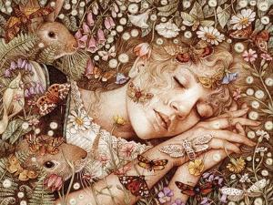 Charlotte Asleep by Anne Yvonne Gilbert