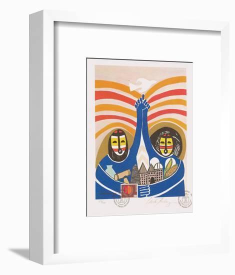 Annee Internationale de la Femme-Viola Burley Leak-Framed Collectable Print