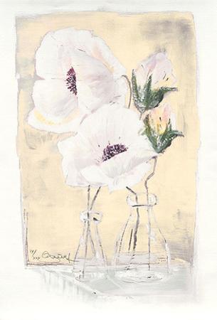 Weiße Blüten auf Gelb, c.2000