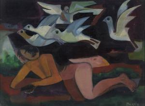 Bird Cloud, C.1945-50 by Anneliese Everts