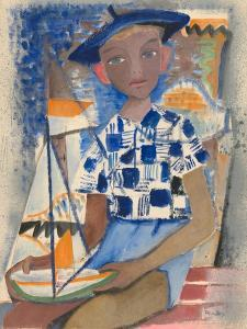 Boy with a Boat by Anneliese Everts