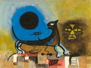 Cats at Night by Anneliese Everts