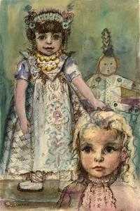 Child with a Doll by Anneliese Everts