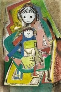 Child with Doll by Anneliese Everts