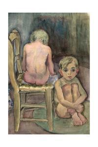 Children in the Studio, C.1939-45 by Anneliese Everts