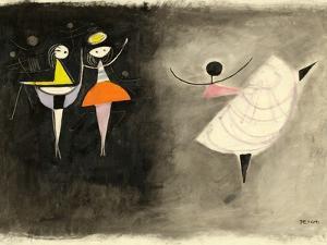 Dancer, C.1950 by Anneliese Everts