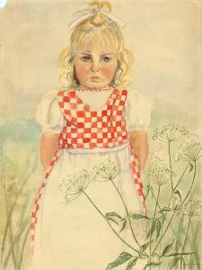 Portrait of a Child, C.1918 by Anneliese Everts