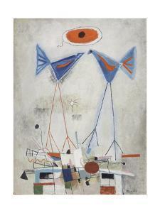 Stilt Birds, C.1950 by Anneliese Everts