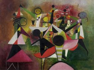 The Children's Game, C.1955 by Anneliese Everts