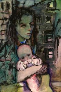 Woman with a Baby, C.1942 by Anneliese Everts