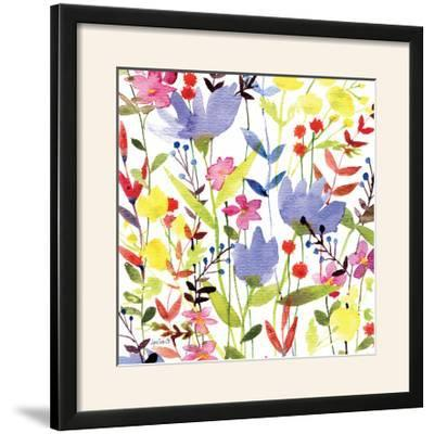 Annes Flowers Crop I-Anne Tavoletti-Framed Photographic Print
