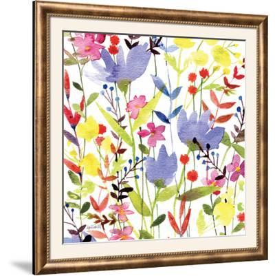 Annes Flowers Crop I-Anne Tavoletti-Framed Photographic Print