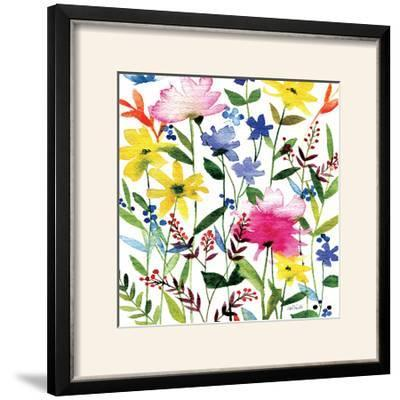 Annes Flowers Crop II-Anne Tavoletti-Framed Photographic Print