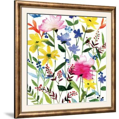 Annes Flowers Crop II-Anne Tavoletti-Framed Photographic Print