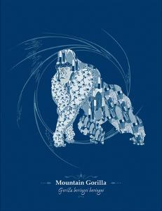 WWF Mountain Gorilla - Animal Tails by Annette D'Oyly