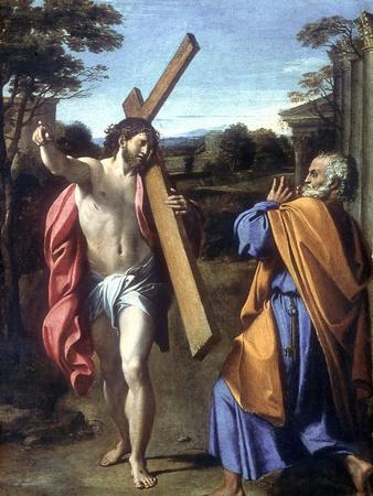 Christ Appearing to Saint Peter on the Appian Way, 1601-1602