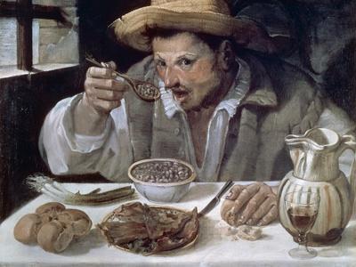 The Bean Eater, 1584-85