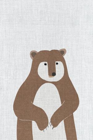 Brown Bear by Annie Bailey Art