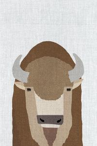 Buffalo by Annie Bailey Art