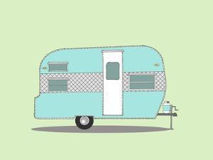 Frolic Camper by Annie Bailey Art