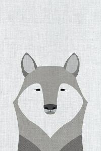 Gray Wolf by Annie Bailey Art