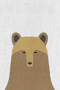 Grizzly Bear by Annie Bailey Art