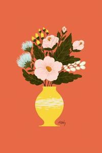Happy Flowers by Annie Bailey Art